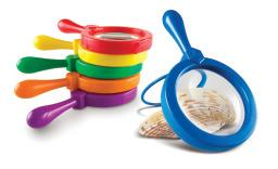 Jumbo Magnifiers - Set of 6 - Eye Candy Special Needs Toy