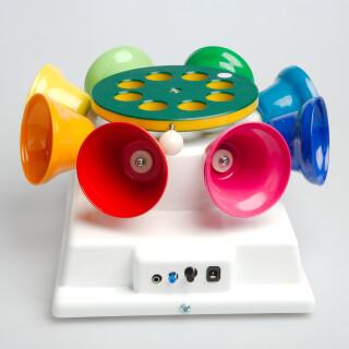 Klockkarusell - kontaktstyrd