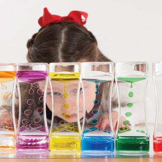 Rainbow Cascade Coloured Liquid Toy