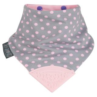 Baby Neckerchew:- Pattern: Polka