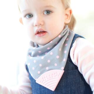Baby Neckerchew (Polka) - Chewy Sensory Toy