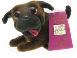 Chocolate Chops Dog Cuddly Toy