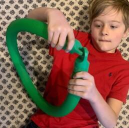 Vibrating Snake -Green