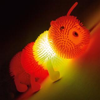 Sensory Flashing Squashy Caterpillar Toy