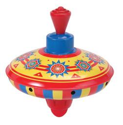 Mini Spinning Top - Hand Operated - Stimulating Sensory Toy