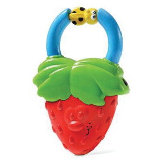 Vibrating Strawberry Teether