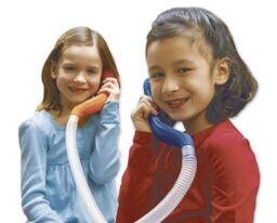 Whisperphone Duet - 2 Phones & 1 Flexi Tube