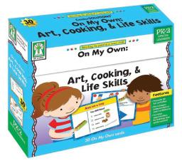 Art, Cooking & Life Skills Learning Cards