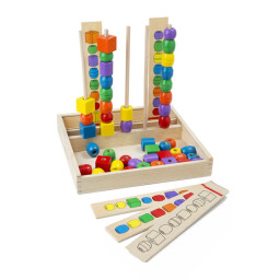 Bead Stacker - Sequencing Toy