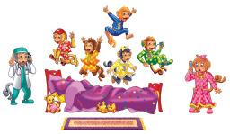 Five Monkeys Jumping on the Bed