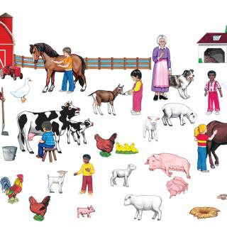 Farm Playboard Set