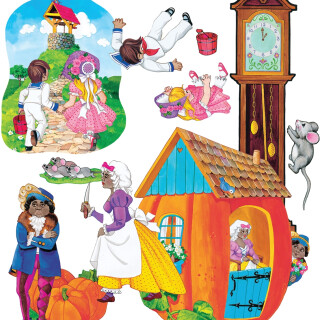 Nursery Rhymes Set 1 - Inclusive Sensory Toy