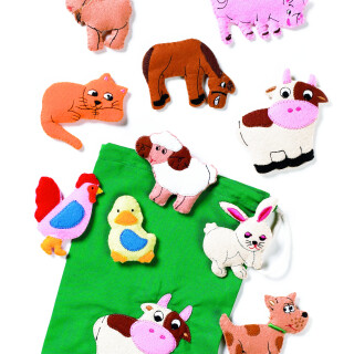 Fuzzy Farm Animals - Learning Sensory Toy