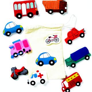 Fuzzy Traffic - Learning Sensory Toy