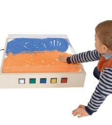 Light & Sand Table Top, Colour Changing
