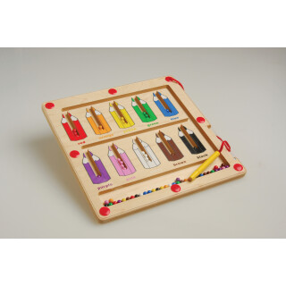 Magnetic Sorting Puzzle - Color Matching Activity