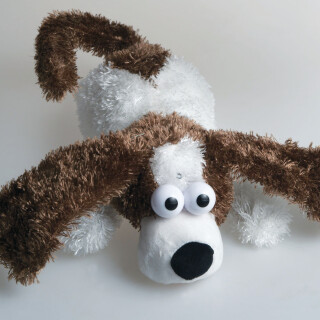 Roly the Laughing Dog - Cuddly Sensory Toy