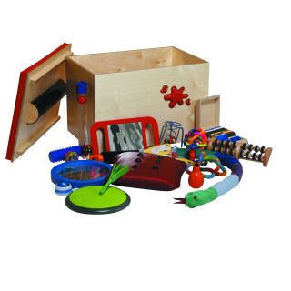 Splodge Box Complete Tactile Toy Set