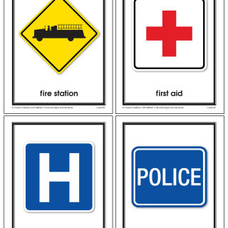 Survival Signs & Symbols Learning Cards