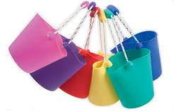 Scrunch Bucket X1 - Messy Play Sensory Toy