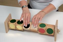 Tactile Dice Matching Game