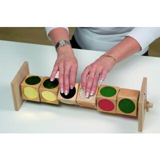 Tactile Dice Matching Game