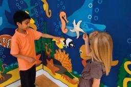 Under the Sea, Tactile Wall Panel, Narrow