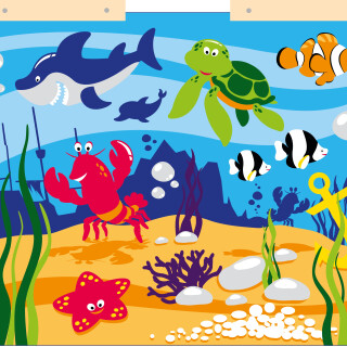 Pod morjem Širša tabla