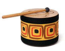 Wood Tone Slit Drum