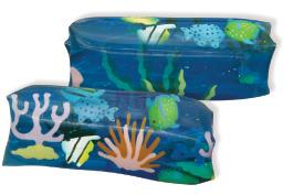 Water Snakes - Family of Six Squidgy Toys
