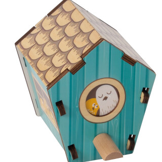 Build It Blueprint Puzzle-Birdhouse  LIMITED SUPPLY