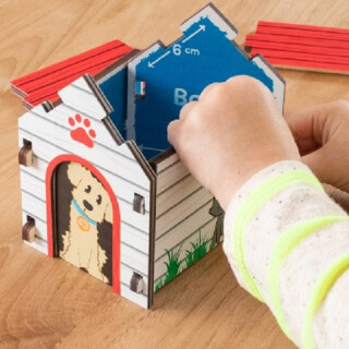 Build It Blueprint Puzzle Doghouse - LIMITED SUPPLY