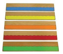 Colours Rulers x5