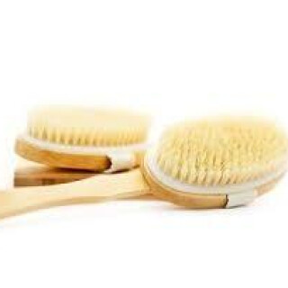 Sisal Spa Brush with removable handle
