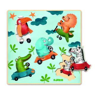 Motorised Safari Board - Challenging Sensory Toy