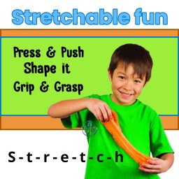 Stretchable Dough - Materials Sensory Toy