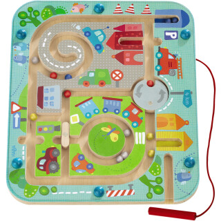 Town Maze Magnetic Game - LIMITED SUPPLY