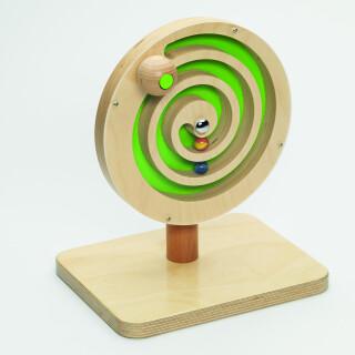 Wooden Bell Spiral Toy