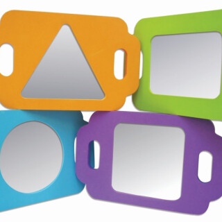 Colorful Board Mirrors