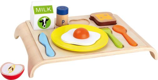 Breakfast Puzzle - Development Sensory Toy