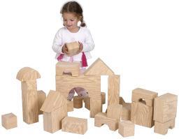 Big Wood-like Soft Bricks