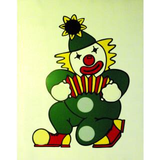 Clown Bean bag Wooden Frame Target