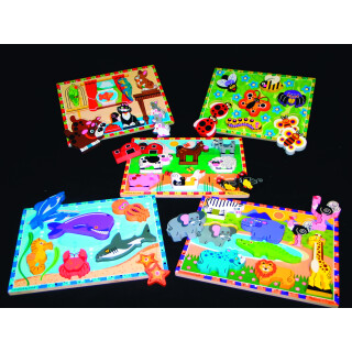 Animal Recognition, Chunky Puzzle Kit