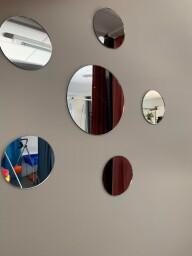 Runda Akrylspeglar