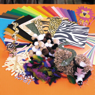 Animal Creativity Craft Pack