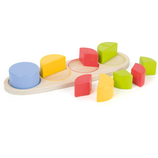 Circle Shape-Fitting Puzzle - LIMITED SUPPLY