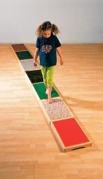 Tactile Walkway - 7 Different Wooden Stepping Stones