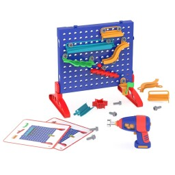 Design & Drill Marble Maze - STEM Toy