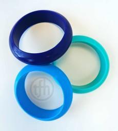 Bangles Chewy Bracelets set of 3
