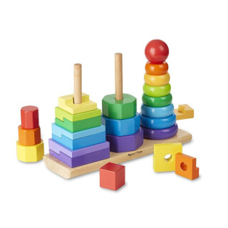 Geometric Shape Stacking Toy